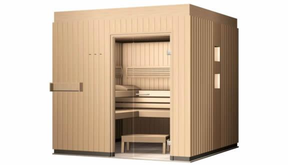 vente sauna en kit fabricant saunas klafs ouest. Black Bedroom Furniture Sets. Home Design Ideas