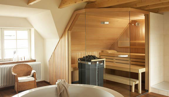 vente sauna sur mesure fabricant saunas klafs. Black Bedroom Furniture Sets. Home Design Ideas